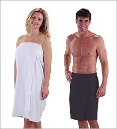 Skin Spa Terry Velour Body Wrap